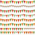 Mexican party bunting Royalty Free Stock Photography