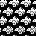 Mexican pattern Stock Photography