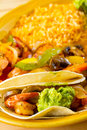 Mexican Restaurant Food Stock Images
