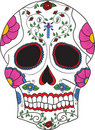Mexican skull Stock Photo