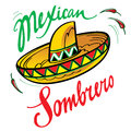 Mexican Sombrero Stock Photography