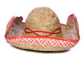 Mexican sombrero cutout Royalty Free Stock Photos