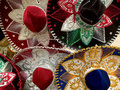 Mexican sombreros Royalty Free Stock Photography