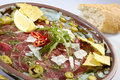 Mexican speciality Carpaccio Stock Photography