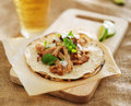Mexican street tacos close up Stock Photo