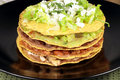 Mexican tostada ahogada Royalty Free Stock Photo