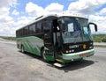 Mexican Tour Bus Royalty Free Stock Photo