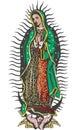 Mexičan panna z farba vektor
