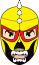 Mexican Wrestling Mask Royalty Free Stock Photo