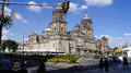 Mexico city cathedral at noon Royalty Free Stock Photo