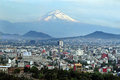 Mexico City Landscape Royalty Free Stock Photo