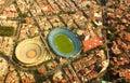 Cruz Azul Stadium and Plaza de Toros