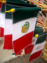 Mexico Souvenir Flags Royalty Free Stock Images