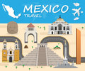 Mexico travel background Landmark Global Travel And Journey Info