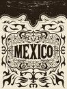 Mexiko západné prvky sada mexičan dovolenka