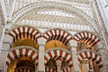 Mezquita Cathedral Architectural Details Royalty Free Stock Photos