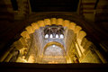 Mezquita Cathedral Chamber Royalty Free Stock Photography