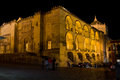Mezquita at Night in Cordoba Royalty Free Stock Photos