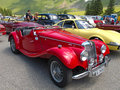 Mg 1500 morgan tf Royaltyfria Foton