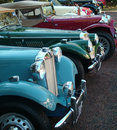 MG Cars Royalty Free Stock Photography