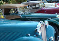 MG Cars in a row Royalty Free Stock Image
