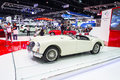 Mg mga car nonthaburi december on display at the th thailand international motor expo on december in nonthaburi thailand Royalty Free Stock Photography