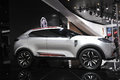 Mg suv road to chinas west th chengdu motor show august th september th Royalty Free Stock Images