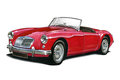 MGA Sportscar Royalty Free Stock Photo
