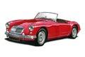 MGA Sportscar Royalty Free Stock Photo