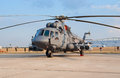 Mi-8AMTSh multipurpose helicopter Stock Photos
