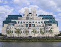 MI6 Headquarters, Vauxhall, Lo...