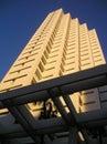 Miami beach Apartment Building Royalty Free Stock Photo