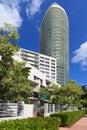 Miami Beach Apartment Life Royalty Free Stock Photo
