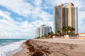 Miami beach florida sunny isles is a city located in dade county Royalty Free Stock Image