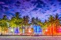 Miami Beach, Florida, USA Royalty Free Stock Photo