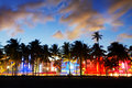 Miami beach floride etats unis Images libres de droits