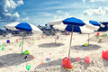 Miami Beach Scene Royalty Free Stock Photo