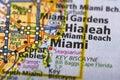 Miami, Florida on map