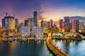 Miami, Florida, Skyline Royalty Free Stock Photo