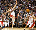 Miami Heat vs. Toronto Raptors Stock Photography