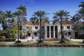 Miami mansion Royalty Free Stock Photo