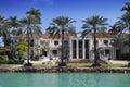 Miami mansion Royalty Free Stock Photo