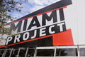 Miami project december gallery at midtown exhibiting artwork for the art basel december in usa Stock Photo