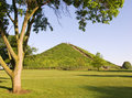 Miamisburg Indian Mound Royalty Free Stock Photography