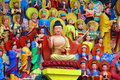 Mianyang, China: Sheng Shui Buddha Tableaux Stock Images