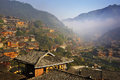 Miao minority village Stock Photography