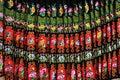 Miao nationality skirt Royalty Free Stock Photo
