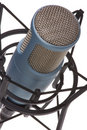 Mic on white 3 Royalty Free Stock Photography