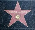 αστέρι του Τζάκσον michael Στοκ Φωτογραφία