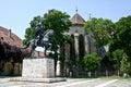 Michael the brave statue alba iulia st s cathedral romania Royalty Free Stock Photo